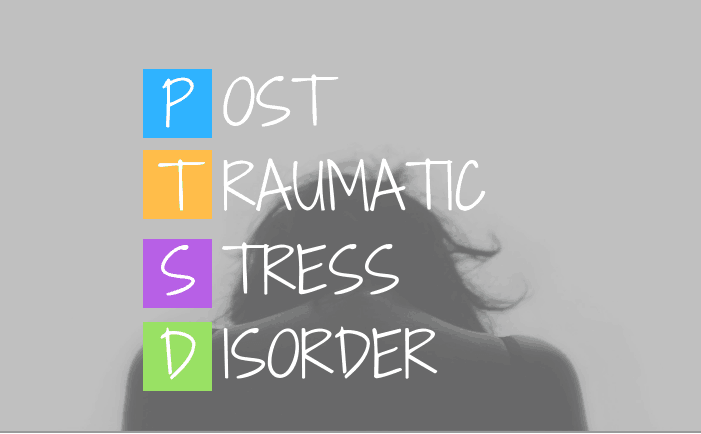 woman with PTSD